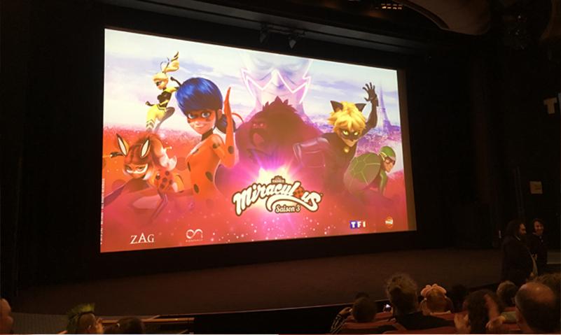 Projection de Miraculous, les aventures de Ladybug et Chat Noir avec TF1 et Vous