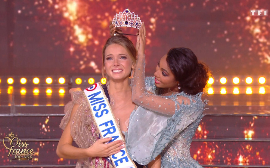 Amandine Petit, Miss France 2021 sur TF1