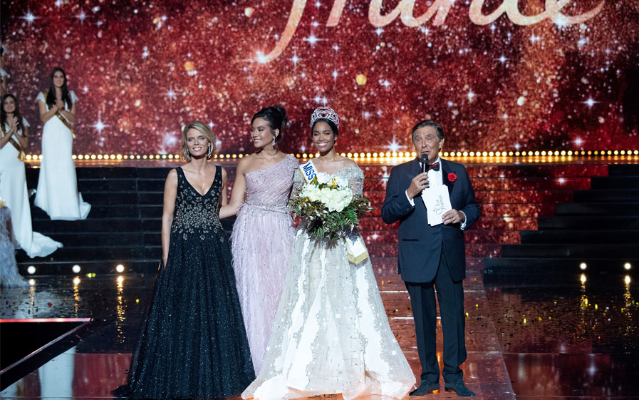 Miss Guadeloupe-Miss France 2020 Clémence Botino