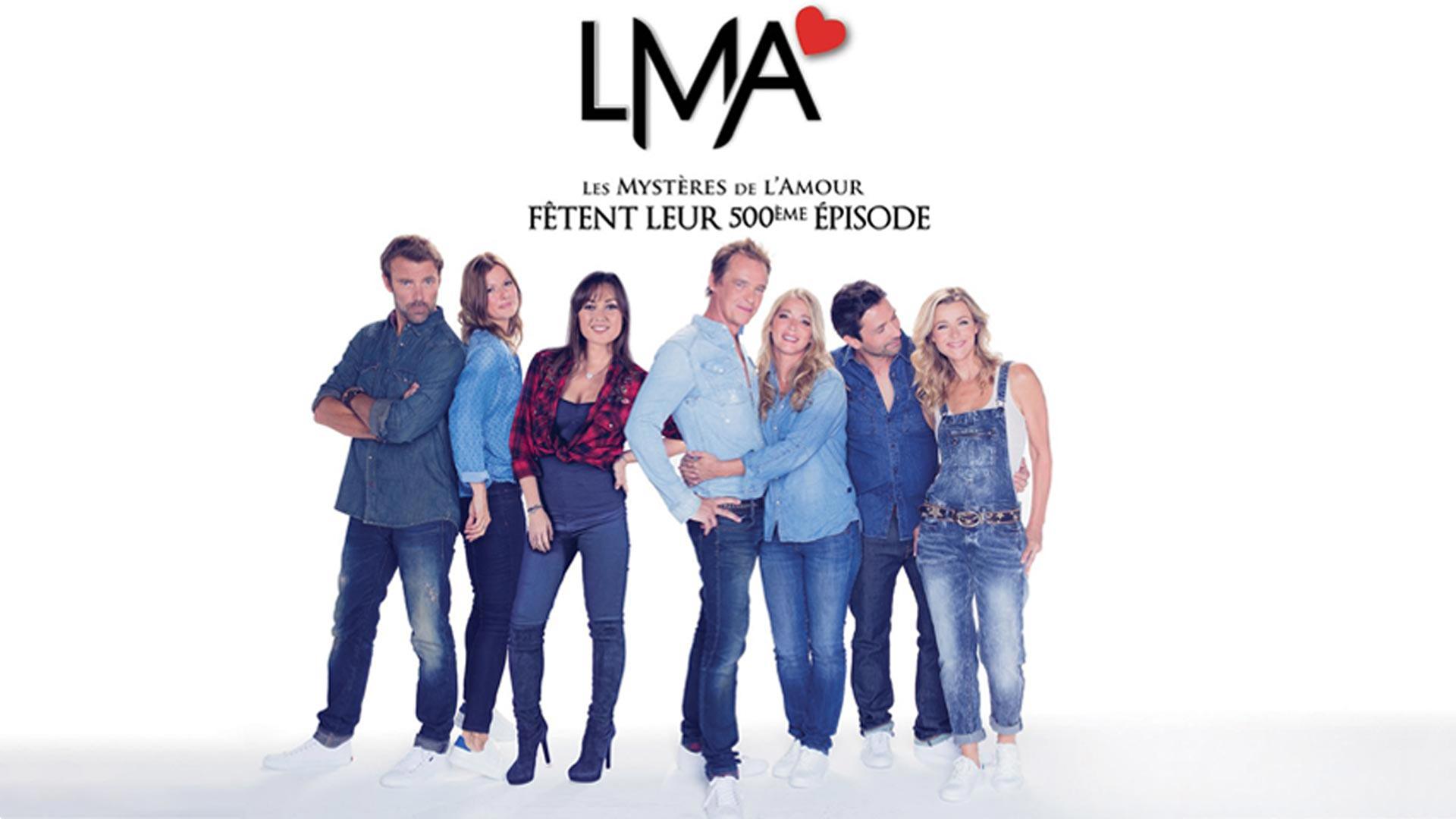 Visuel du jeu-concours pour rencontrer les comédiens de la série Les Mystères de l'Amour avec TF1 et Vous