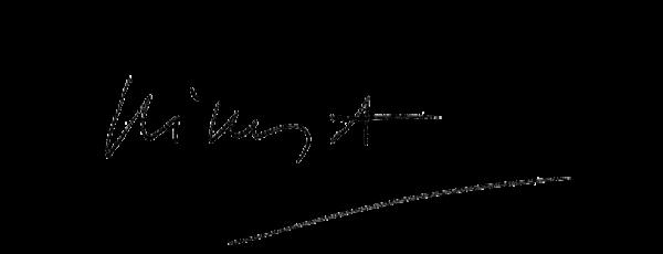 Visuel de la signature de Nikos Aliagas, présentateur de TF1 : The Voice, Les NRJ Music Awards...