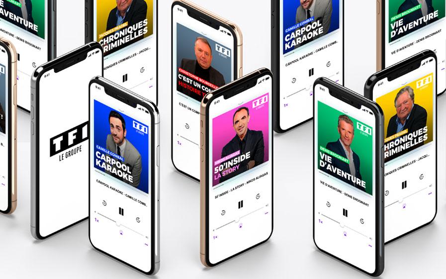 Podcasts du groupe TF1
