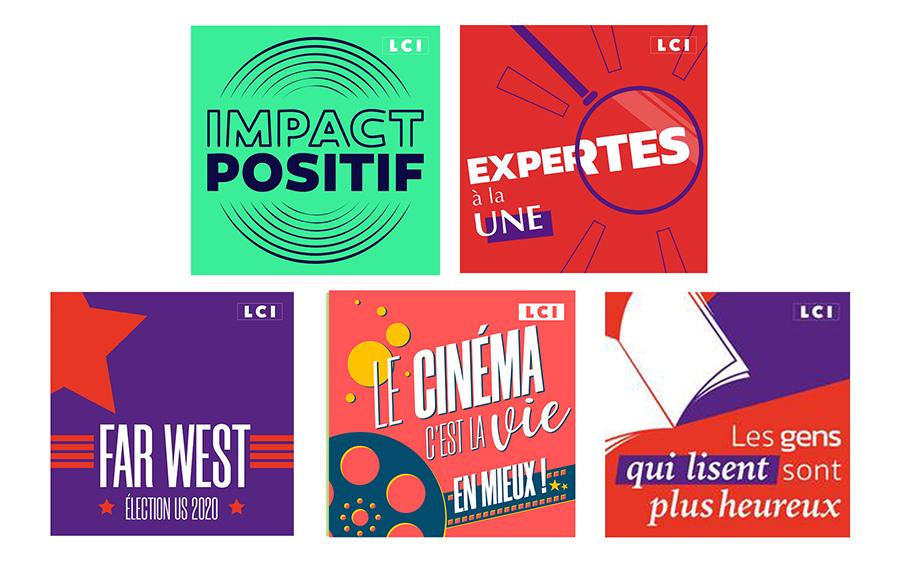 TF1 et LCI publient 5 podcasts natifs sur les plateformes de diffusion !