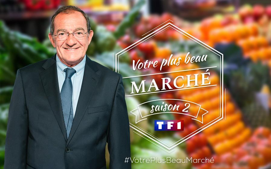 Visuel Votre Plus Beau Marché saison 2 avec Jean-Pierre Pernaut