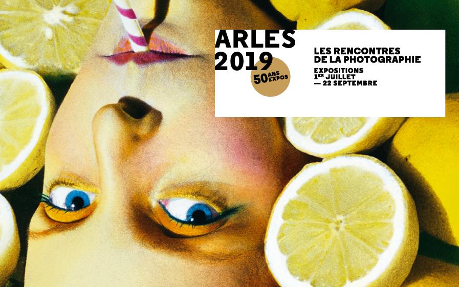 Affiche officielle des Rencontres d'Arles 2019