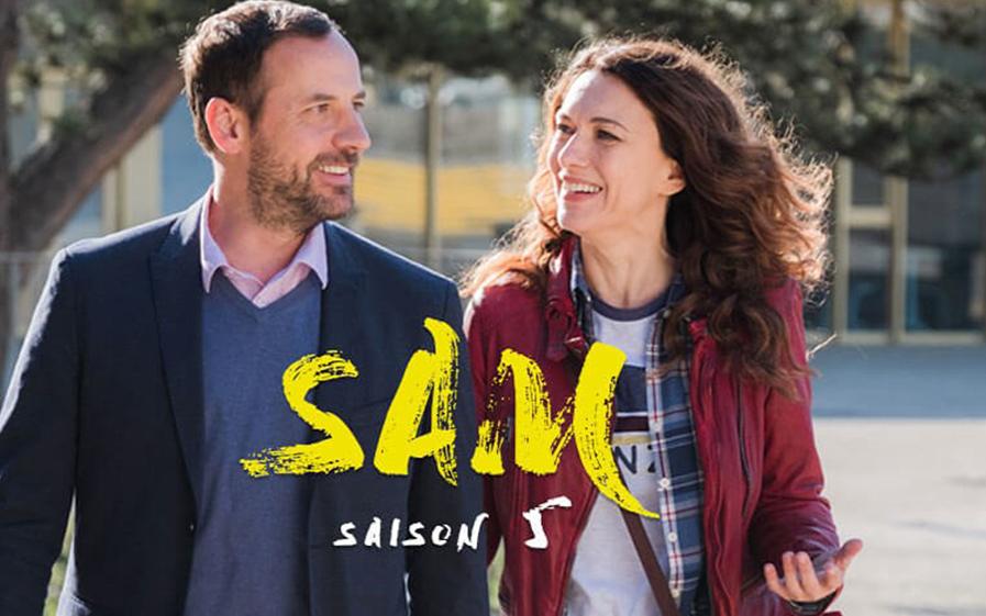 Sam saison 5 en tournage