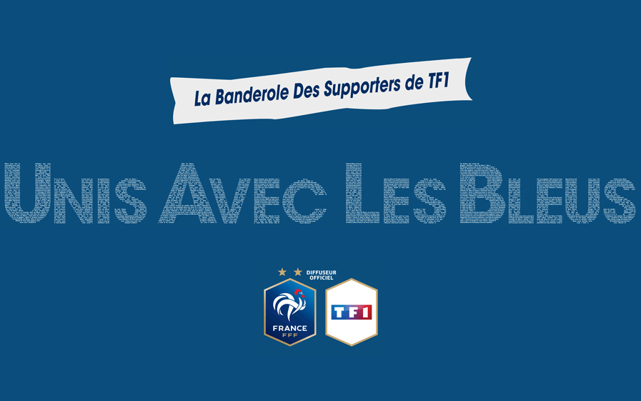 TF1 lance sa Banderole des supporters !