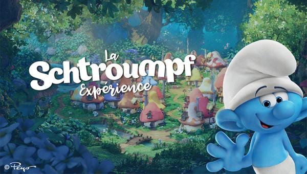 La Schtroumpf Experience à Paris Expo Porte de Versailles !
