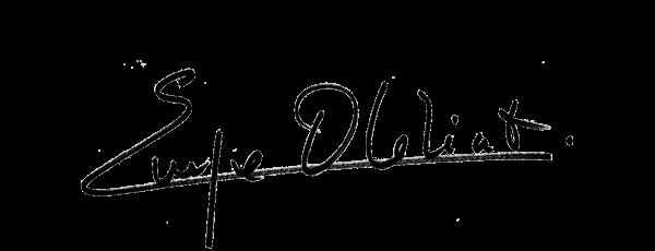 Visuel de la signature d'Evelyne Dhéliat, présentatrice de la météo sur TF1