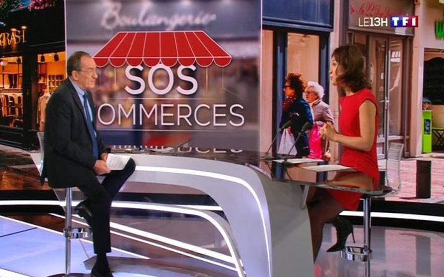 """""""SOS COMMERCES"""" NOUVELLE INITIATIVE lancée dans le JT DE 13H !"""