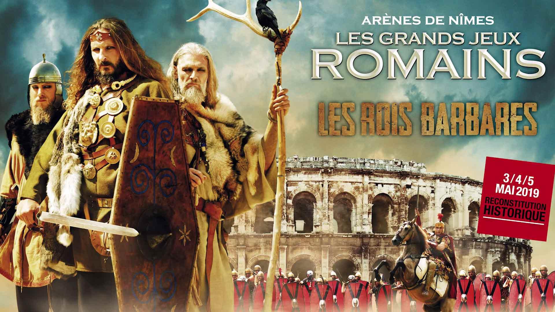 Visuel du jeu-concours Grands Jeux Romains avec TF1 et Vous