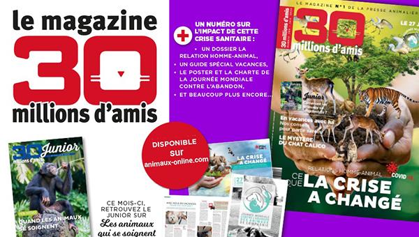 Abonnement à 30 millions d'amis, le magazine