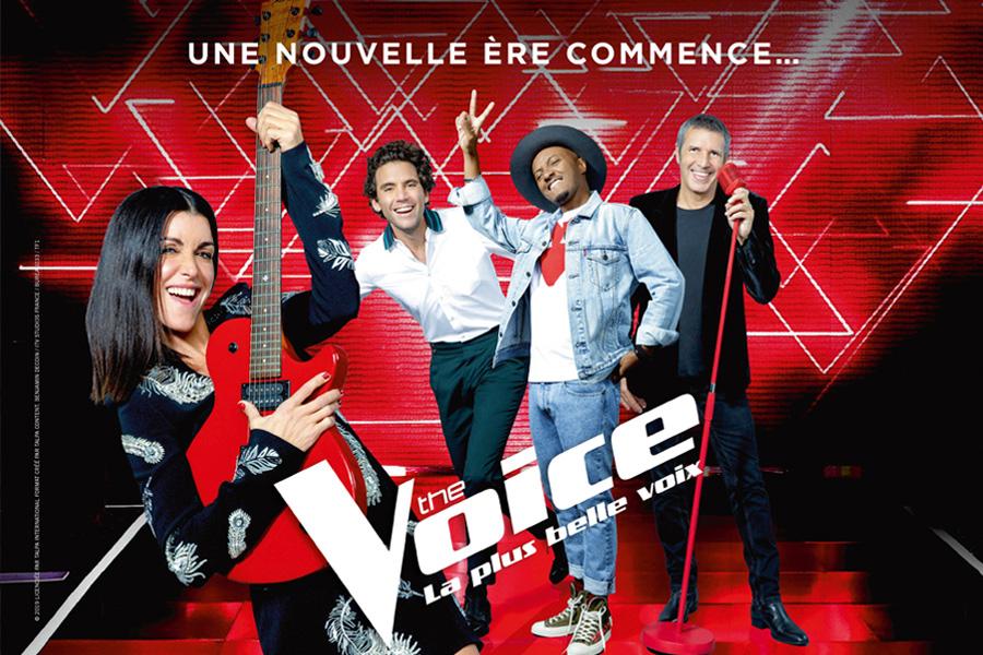 Visuel des événements organisés pour la saison 8 de The Voice, La plus belle voix