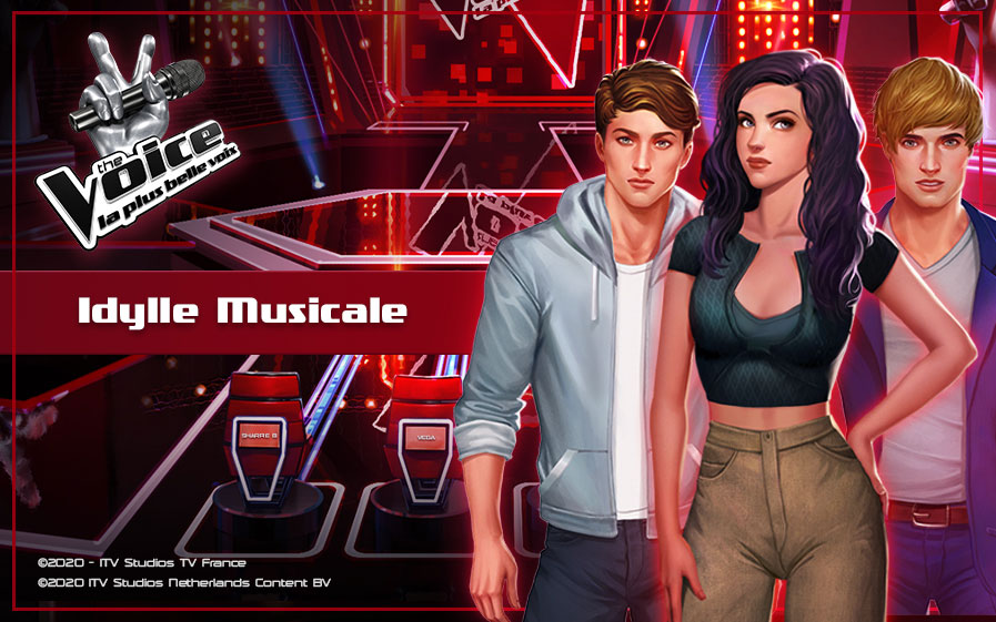 TF1 vous offre le jeu interactif The Voice : la plus belle voix-Idylle Musicale