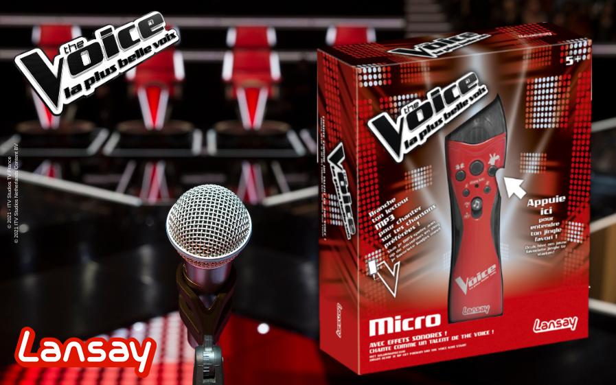 TF1 vous offre votre micro The Voice