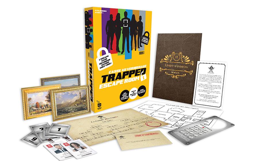 TF1 vous offre le jeu « Trapped - Casse au Vernissage »
