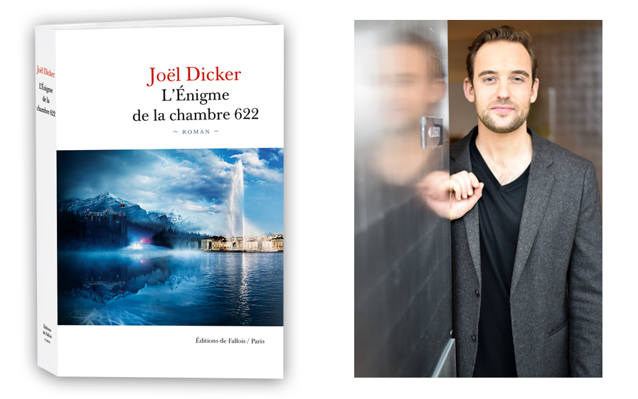 Gagnez le livre dédicacé de Joël Dicker-L'énigme de la chambre 622