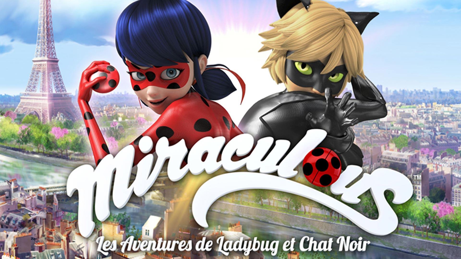 Visuel de l'événement Miraculous, Les Aventures de Ladybug et Chat Noir en avant-première
