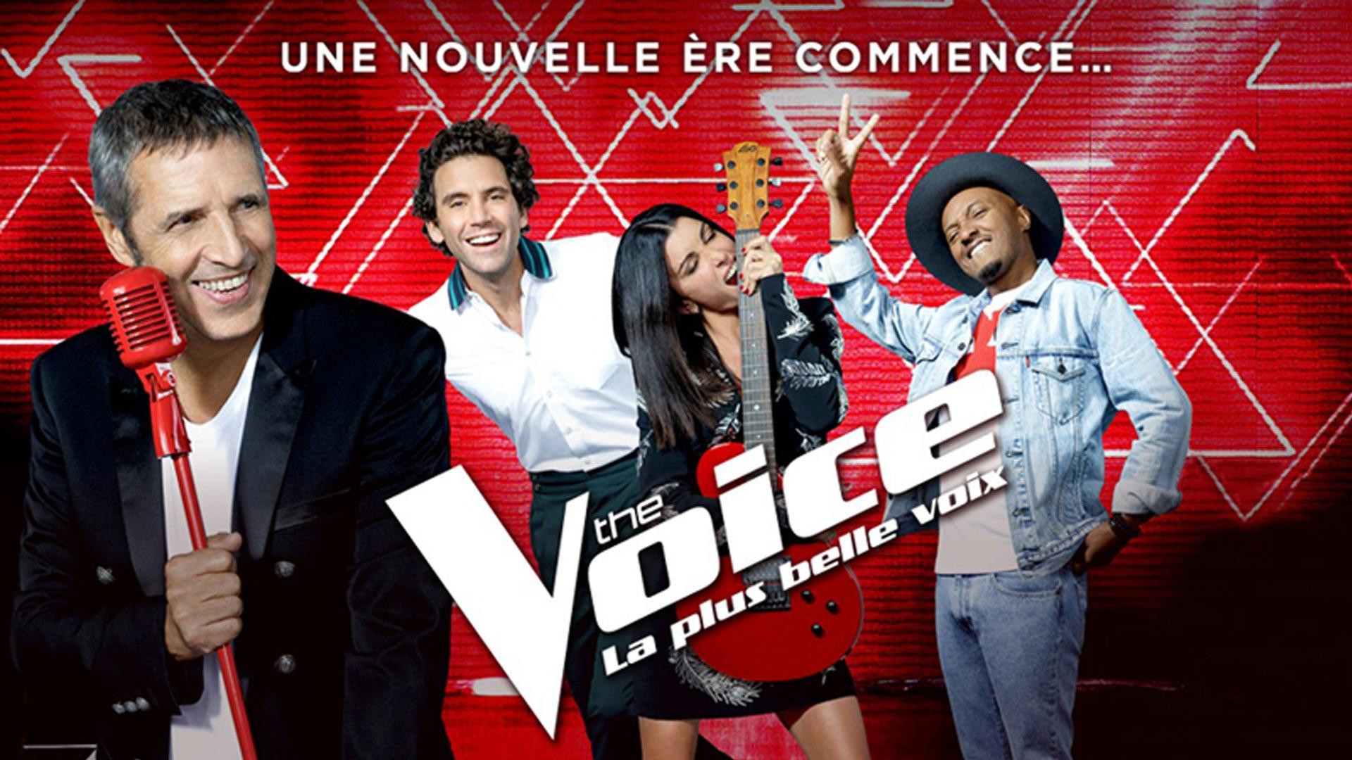 Visuel des événements pour la saison 8 de The Voice, La plus belle voix