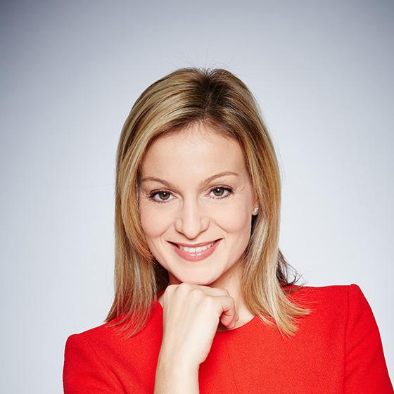 Visuel d'Audrey Crespo-Mara, journaliste sur LCI et TF1