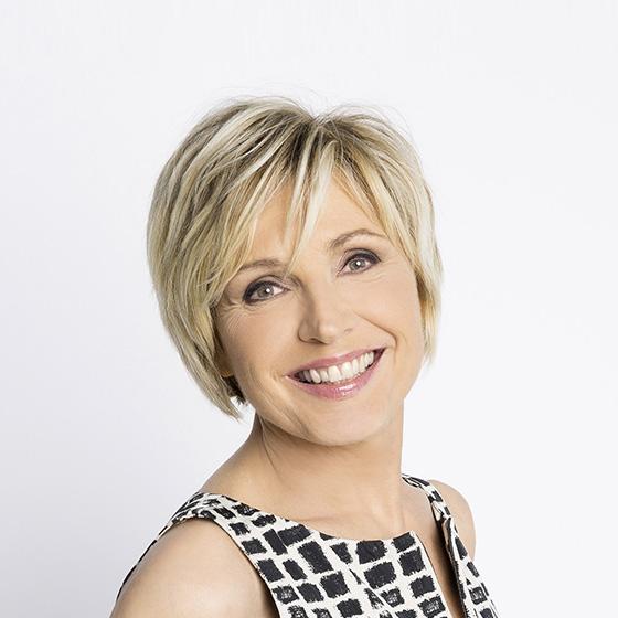 Visuel d'Evelyne Dhéliat, présentatrice de la météo sur TF1