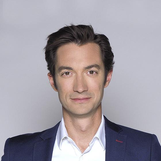 Visuel de Frédéric Calenge, journaliste sur TF1
