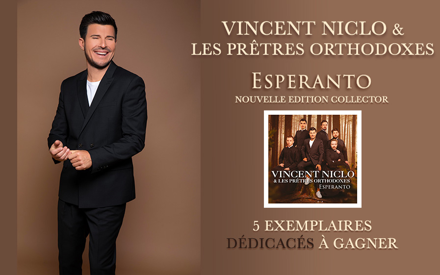 Vincent Niclo & les prêtres orthodoxes