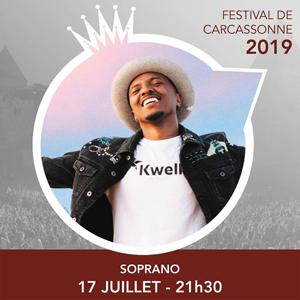 Gagnez vos places pour le concert de Soprano au Festival de Carcassonne avec TF1 !