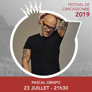 TF1 vous offre des places pour le concert de Pascal Obispo au Festival de Carcassonne !