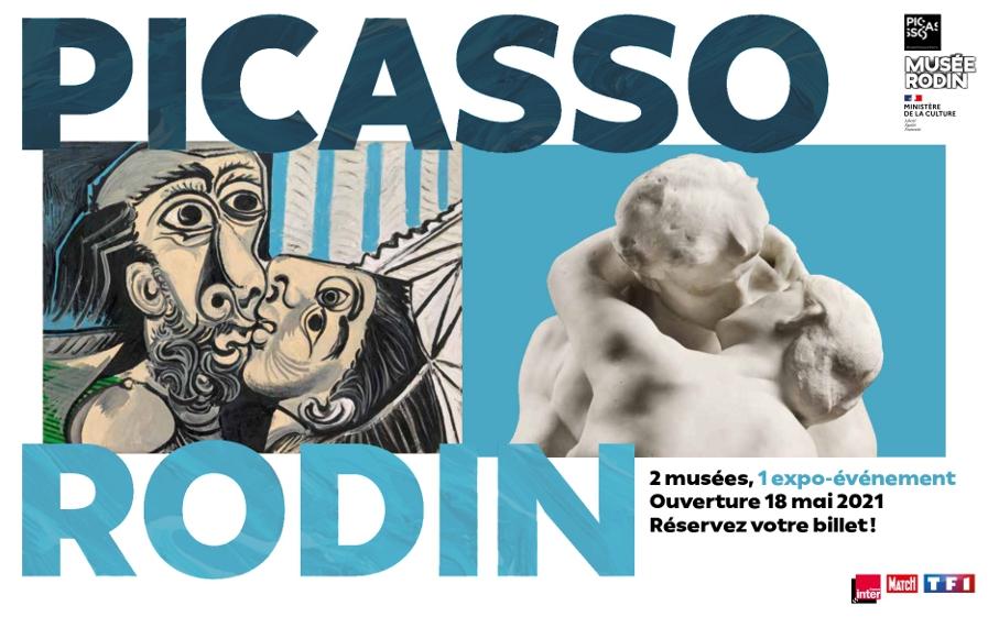 Le Groupe TF1 est très heureux d'accompagner l'exposition « Picasso-Rodin »