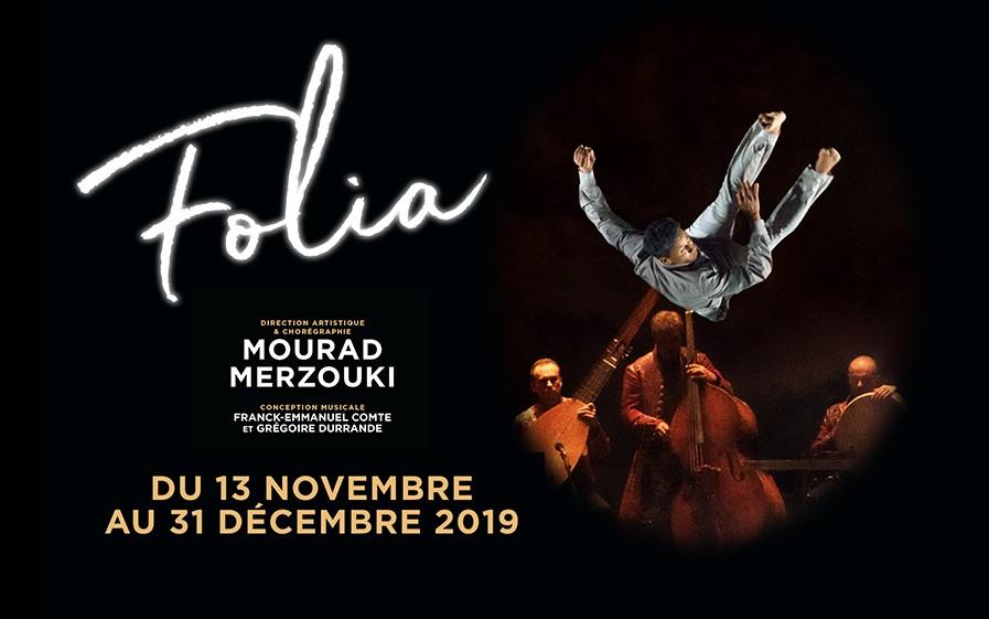 TF1 vous offre des places pour le spectacle Folia !