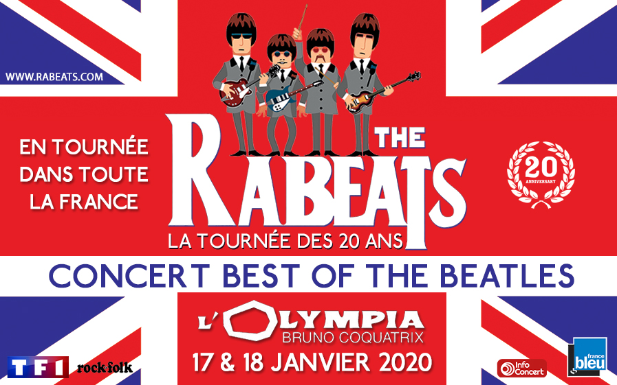 TF1 vous offre des places pour « The Rabeats », hommage aux Beatles la tournée des 20 ans !