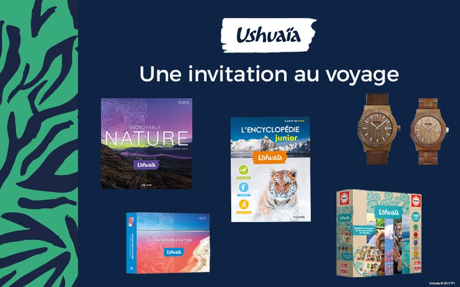 TF1 vous offre des cadeaux Ushuaïa !