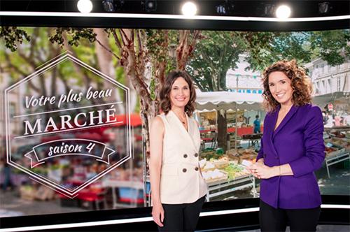 Votre plus beau marché saison 4 : Dominique Lagrou-Sempere et Marie-Sophie Lacarrau