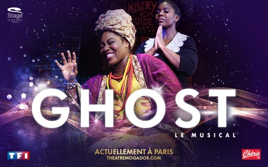 TF1 vous offre des places pour Ghost le Musical ou un T-shirt en référence à ce film culte !