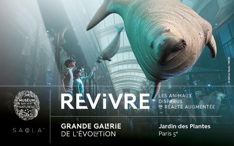 « Revivre » : un voyage immersif dans le monde des animaux disparus.