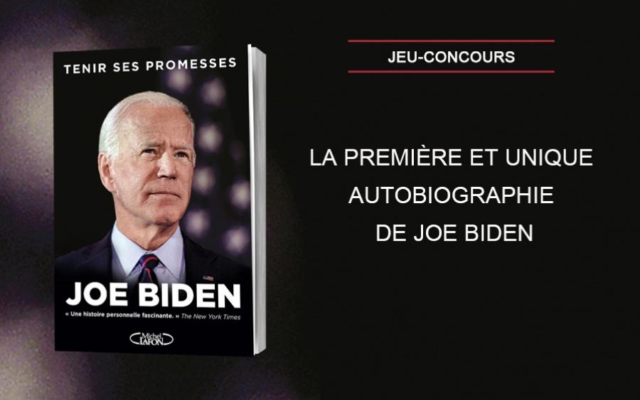 """Gagnez l'autobiographie de Joe Biden """"Tenir ses promesses"""""""