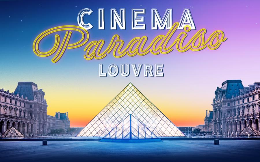 Jeu-concours : gagnez vos places pour les projections de Cinema Paradiso dans la cour carrée du Louvre !