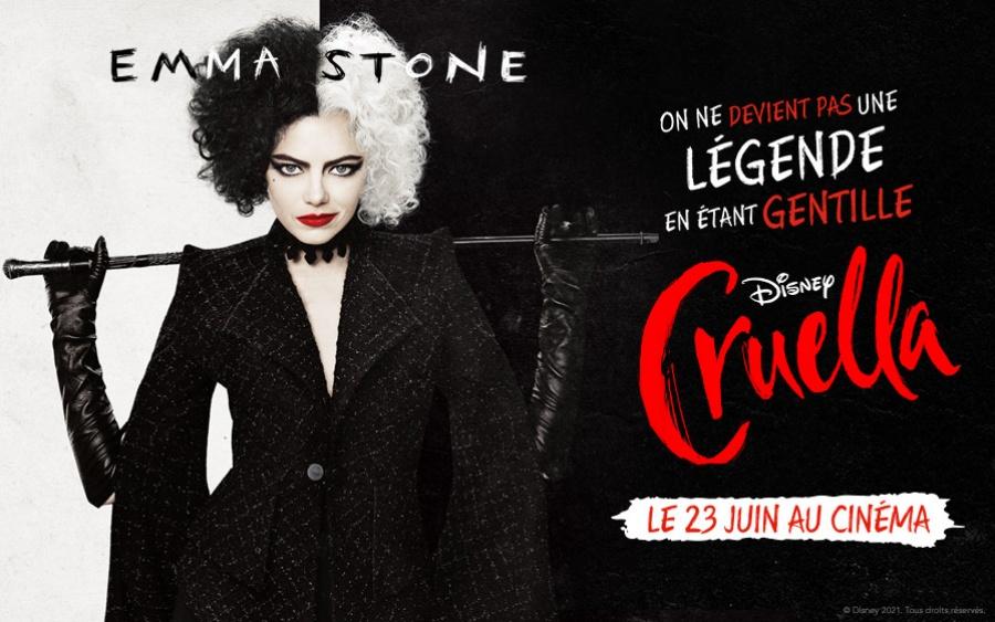 Gagnez vos places pour le film « Cruella »