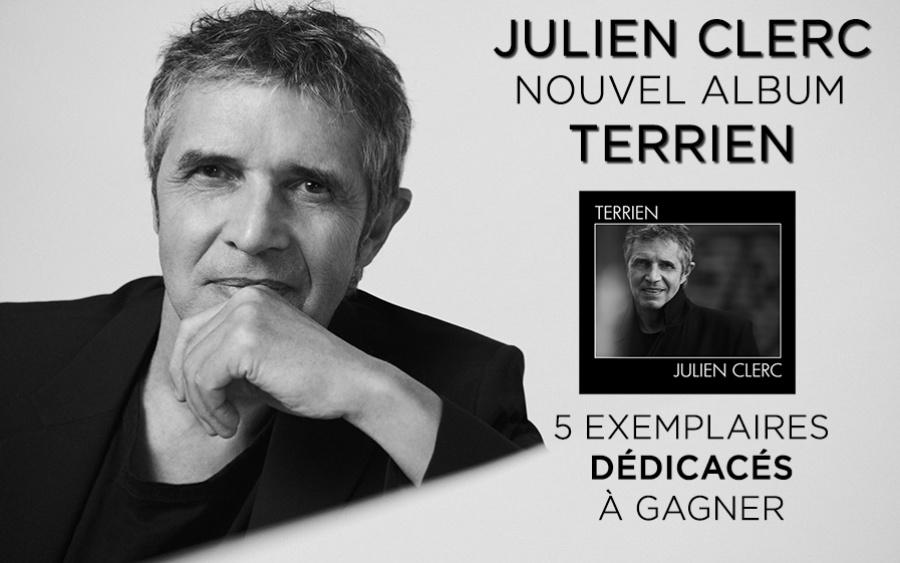 TF1 et Play Two vous offrent le nouvel album de Julien Clerc