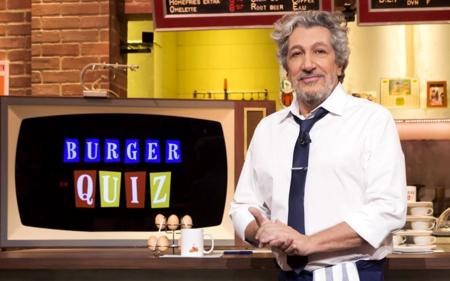 Tentez de gagner le cahier de jeu Burger Quiz !