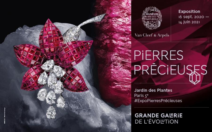 LCI, partenaire de l'exposition Pierres Précieuses