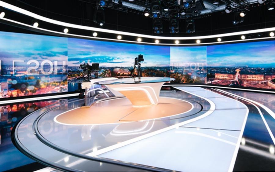 Plateau journaux télévisés