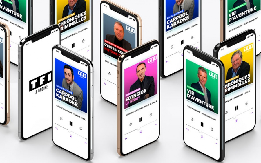 Podcasts du groupe TF1
