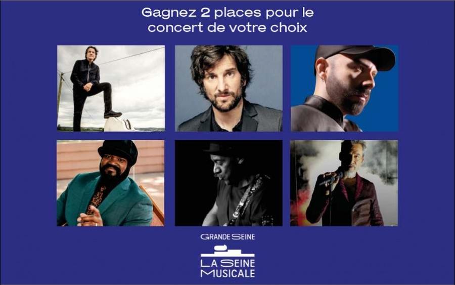 TF1 vous invite à découvrir six immenses artistes renommés en concert