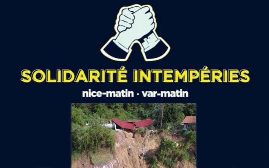Solidarité Intempéries Nice Matin/TF1